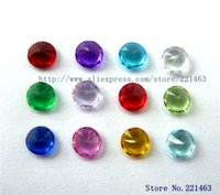 Wholesale 60PCS DIY accessories mm Mix color Birthstone Floating Charms For Glass Living Locket