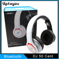 Cheap A+++++ Quality Headset Over Ear Headphones 50 Cent SMS Audio SL600 Headphones Sync by 50 Cent Wireless Headphones vs 2.0 bluetooth chat more