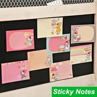 Wholesale 60 Sticky notes Little talk Red hat Post it notes notepad Cute stationery papelaria office material School supplies