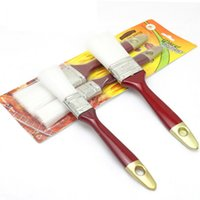 Wholesale Direct manufacturers red plastic barbecue brush nylon brush barbecue tools packs of
