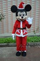 Precio de la promoción de la mascota de Mickey Mouse traje de la historieta del tamaño adulto trajes para la venta
