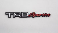 Toyota auto logo suppliers - 3D Aluminum Alloy Car Badge Logo emblema Nameplate Auto Rear Trunk Sticker Emblem Decal Fit For TRD sportivo All Models Supplier OEM