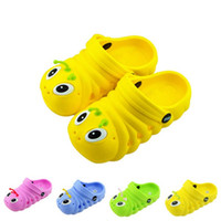 pvc sandals - Children s Shoes Insole Barefoot Summer Slipper Kids Sneakers Baby Boys and Girls Sandals Kids Footwear Cool Slippers Child Beach Shoes
