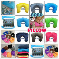 Wholesale 2015 HOT Pillow in U shaped Pillow seat cushions Travel Pillow iPad Tablet Case Car waist neck pillow nap pillow BBB3214