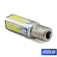 Wholesale new super bright white w x cob smd p21w s25 led interior fog lamp brake bulb parking backup light free