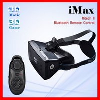 magnets for - Newest Sale RITECH II Plastic Version VR Mobile Phone d glasses Virtual Reality Magnet Google Cardboard for inch Bluetooth controller