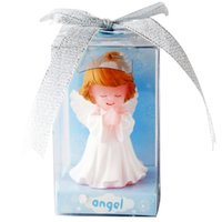 Wholesale Angel Wedding And Birthday Candles Little angel Smokeless candle Best Quality wedding favors boy girl