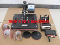 Wholesale NEW All in One Ce Combo Heat Press Machine A4 Sublimation Paper Hat Press Mug Press Logo Transfer Machine