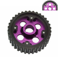 adjustable cam pulley - Racing Adjustable cam gears pulley FOR Honda B16A Purple