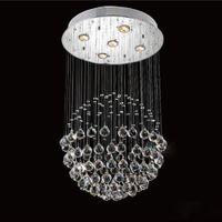 Wholesale Modern Chandelier Luxury K9 Crystal Ball Round Luminaire Decoration Ceiling Art Lighting Pendant Lamp Chandeliers Lights