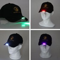 led light baseball cap - Led Light Baseball Cap DHL Hats Fashion Hats and Caps Fashion Trucker Cap Mesh Cap Christmas Party B492