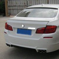 Wholesale Car Styling ABS Material Rear Spoiler For BMW F10 F18 High Quality Auto Decoration Accessories