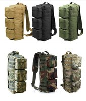 bicycle frame packs - Airborne Tactical Airsoft Paintball Molle Backpack Outdoor Sports Travel Camping Bicycle Cycling Hiking Hunting Bag