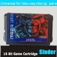 Wholesale New classical bit md game card for bit game console Battle Frenzy