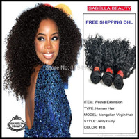 african american romance - African American Black Hair Style Romance Curl Hair Weaving Top A Grade Unprocessed Mongolian Curly Hair Weave