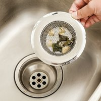 Wholesale F09 sink basin vegetables basin stainless steel filter net bathroom drains attempts to prevent anti drain plug