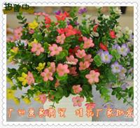 artificial selection plants - 10pcs Silk Artificial Flowers artificial flowers Fork plants plum color selection artificial flowers Yiwu simulation flow