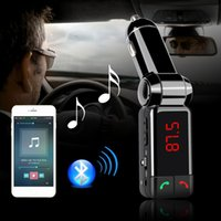 Wholesale Car Kit MP3 Player Wireless Handsfree Bluetooth FM Transmitter Modulator Hot