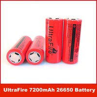 Wholesale UltraFire V mAh Rechargeable Li ion Battery For Flashlight