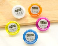 Wholesale Multi Color Mini LCD Novelty Digital Kitchen Timer Magnetic Electronic Clip Alarm Home Kitchen Countdown Count Down Factory Price