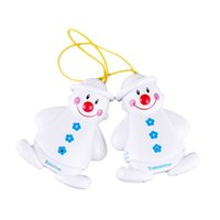 Wholesale Wireless Infant Baby Alarm Sleep Cry Detector Monitor Security Safe Call Watcher Reminder Lovely Snowman Design order lt no track