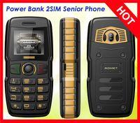 analog speaker phone - 100 Original ADMET B30 Power Bank Phone mAh Big Battery Speaker Torch Dual Sim Old Man People Senior Phone