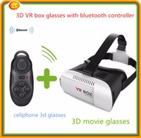augmented reality - 100 DHL free Google Cardboard D Glasses VR Box Enhanced Version Virtual Augmented Reality D movie cellphone glasses