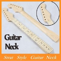guitar neck - High Quality BRAND NEW Replacement ST Strat Stratocaster Electric Guitar Maple Neck FingerboardStrat Style Guitar Neck