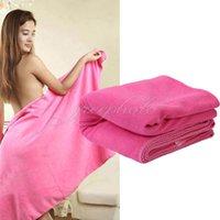 Wholesale 70 cm Beach Sport Absorbent Bath Sheet Towel Drying Camping Swimwear Shower
