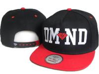 al por mayor moda sombreros de copa baratas-Diamond Snapbacks Crooks Castillos Sombreros Snapbacks manera barata ajustable diamante Gorros de calidad superior puede mezclar orden