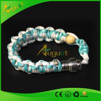 Wholesale stash bracelet pipe stash storage discreet smoking bracelet pipe for click n vape tobacco weed sneak a toke