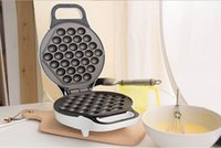 Wholesale HK Non stick Automatic Household Home Electric Rotary Egg Waffle Maker Pancake Machine Cooking Tools