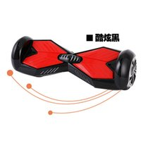 four wheel electric scooter - Four colors inch wheels scooter two wheel electric scooter smart balance car with bluetooth LED light twist twist car