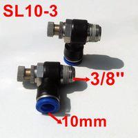 Wholesale 5pcs Pneumatic Air Fitting Throttle valve Air Speed Control SL10 Tube mm