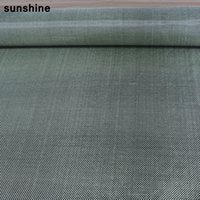 aramid fabrics - 3k Carbon Aramid Fiber Hybrid Fabric g m2 Yellow Black Plain Weave High Quality Weaving for Sport Products