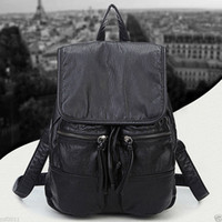 Wholesale Fashion Women s Leather Travel Satchel Shoulder Backpack School Rucksack Bags