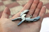 Wholesale Pocket Plier Multifunction Portable Folding Pliers Outdoor Camping Survival Turtle Scarab Multi Function Folding Pocket Folding Plier