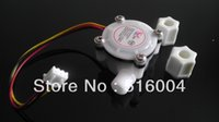 Wholesale High precision water flow meter water flow sensor counter DC3 V G1 quot RoHS