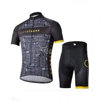 Compressed livestrong - Livestrong Summer Cycling Jersey Sets Bicycle Clothes Bicycle Wear Cycle Short Sleeve Jersey Bib Shorts Livestrong Cycling Jersey