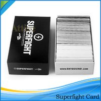Wholesale Popuar Card Games Superfight Cards Card Core Deck Playing Cards Also Have Basic And Expansion Cards In Stock DHL Free
