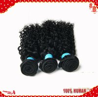 Wholesale 5A peruvian kinky curly virgin hair extensions human hair b natural black color remy hair weft bundles Forawme hair