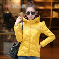Cheap 2014 new Winter jacket women clothing winter coat casual solid overcoat jackets 5 colors plus size S-XL Free shipping