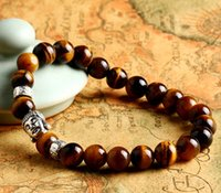 amber jewelry for sale - 2015 cheapest mens charm jewelry adjustable buddha tiger eye lucky amber beads bracelets jewelry for sale