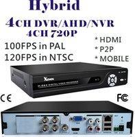Wholesale CCTV DVR P DVR AHD DVR NVR Hybrid Channel H Security DVR