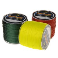 Wholesale 500m yd PE Braided Fishing Line Color available LB Tensile Strength Angling fish line