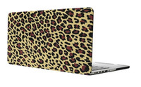 Wholesale 13 inch Macbook Air Yellow Leopard Shell Without Mark Laptop Sleeve Case Notebook Notbook Cover Bag