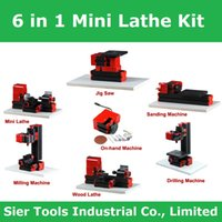 Wholesale 6 in Mini Lathe Drill Mill Sawing Multifunction Machine Drill Mill Machine W Normal Type