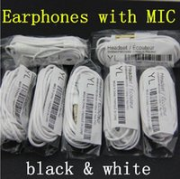 Wholesale New In Ear YL Earphone Headphones for Samsung Galaxy Note N7000 Galaxy S3 i9300 S2 i9100 with Remote and MIC handfree