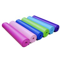 Wholesale New cm mm Thick Yoga Mat Non slip Slip resistant Bodybuilding Exercise Fitness Pad Gymnastics Lose Weight Sport Tool