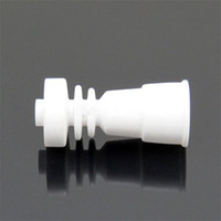 hand tool - Domeless Ceramic Nail Fits to Both mm mm with female Glass jonit vs GR2 Titanium Nail